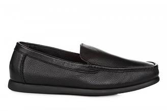 Оригинальные мужские мокасины Clarks Fashion Moccasin Black   мокасины касуал черные