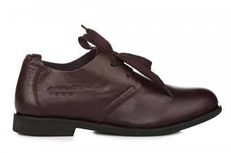 Оригинальные мужские туфли ECCO Casual Derby Brown | туфли екко кэжуал коричневые
