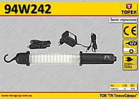 Лампа переносная светодиодная 60LED,  TOPEX  94W242