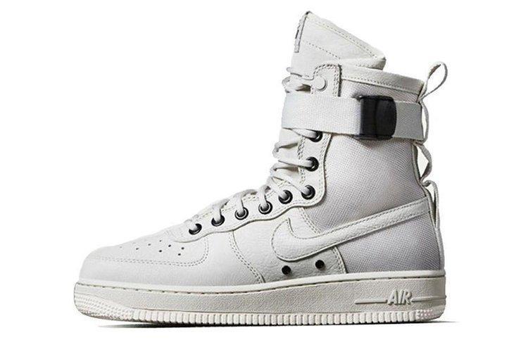 59f16748 Кроссовки женские Nike Air Force SF1 Whitee найк аир форсе белые ...