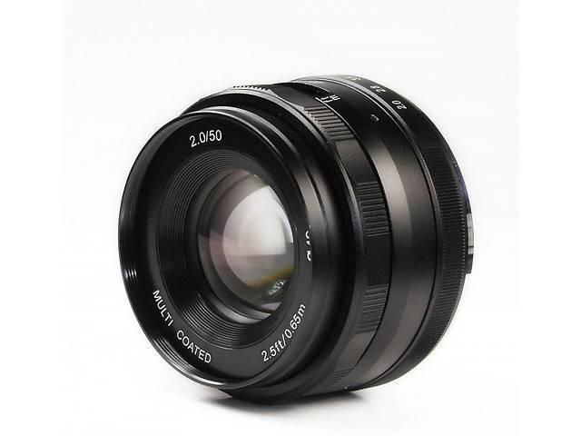 Об'єктив MEIKE 50 mm F/2 MC для Canon EOS M (байонет EOS-M)