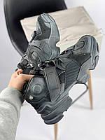 Мужские кроссовки Reebok x Vetements Genetically Modified Pump Black, фото 1