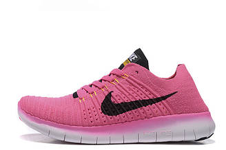 Кроссовки женские Nike Free Run Flyknit 5.0 Pink  найк фри ран плюс