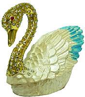 Шкатулка Лебедь 856-2
