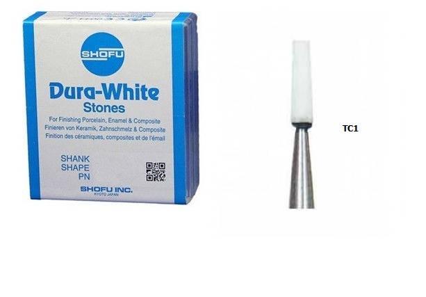 Shofu Dura-White TC1 (12 штук) шліфувальні камені для композитів і кераміки, фото 2