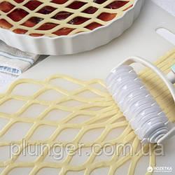 Валик кондитерский для нарезки теста сеткой