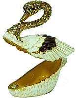 Шкатулка Лебедь 856-3