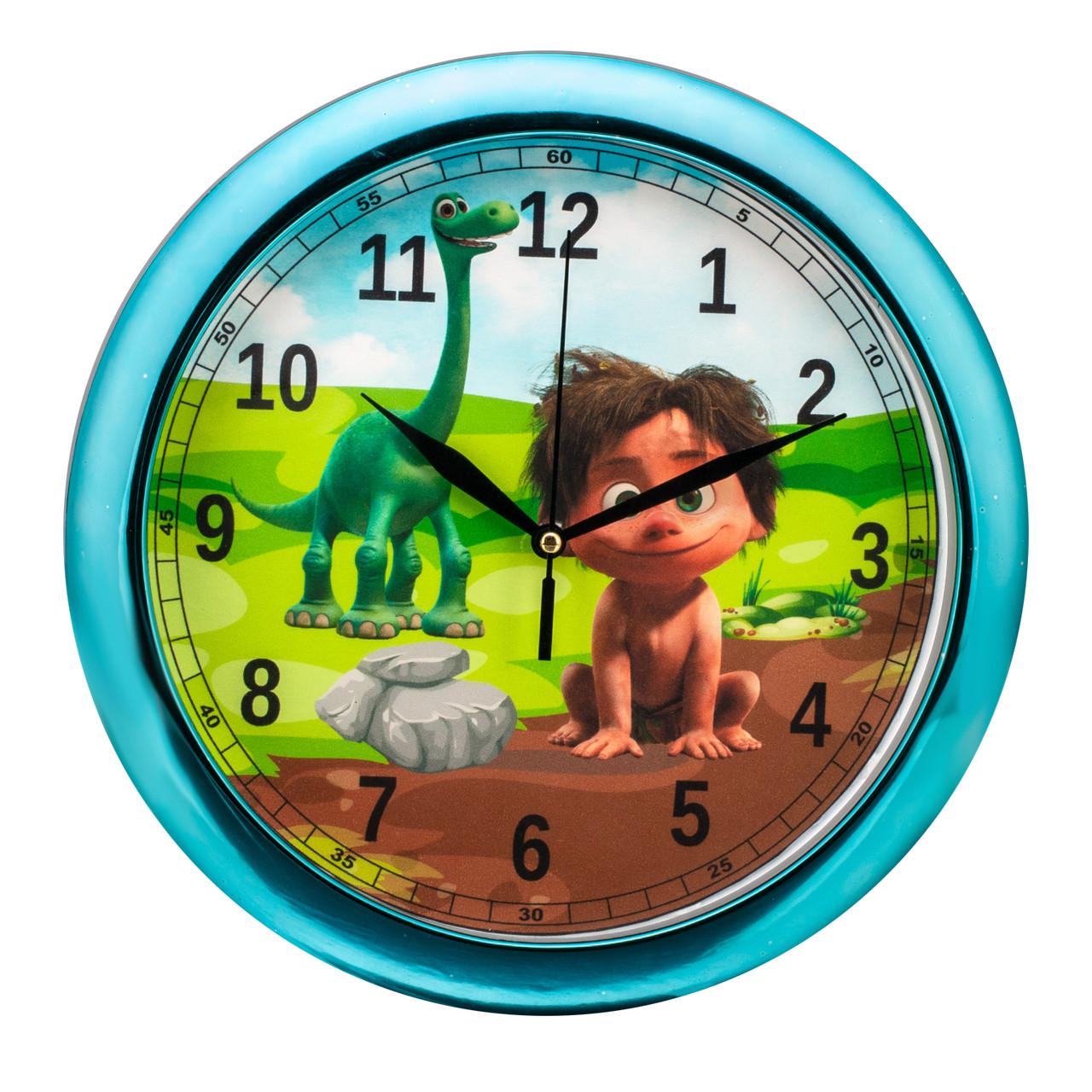 Часы настенные детские Динозаврик d9