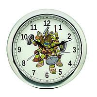 Часы настенные детские Черепашки ниндзя  d10