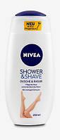 Nivea Shower & Shave Dusche & Rasur - Гель для душа и бритья 250 мл