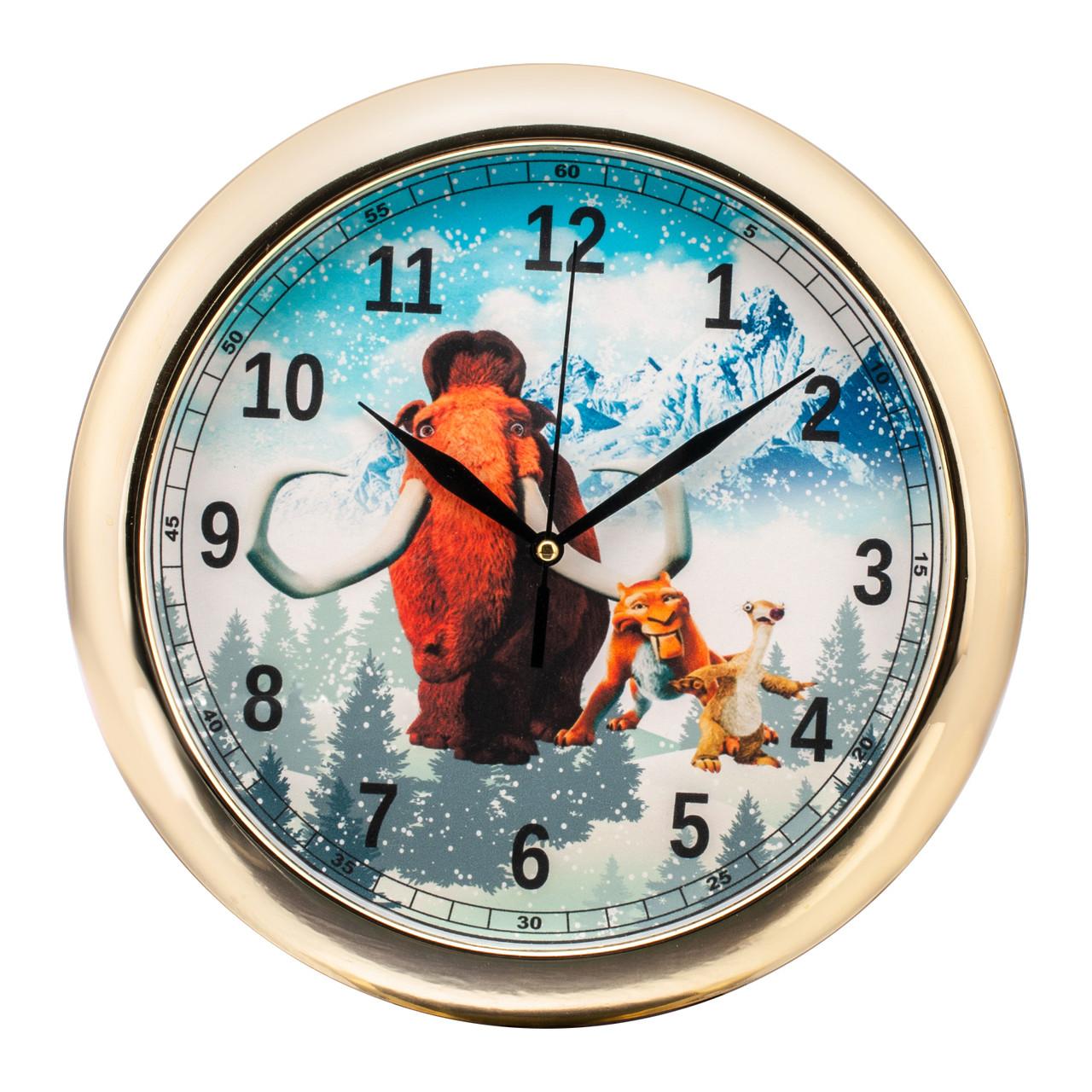Часы настенные детские Ледниковый период d16