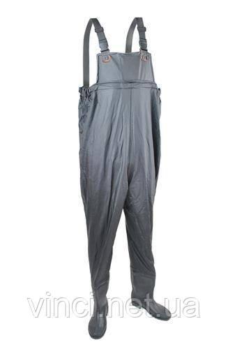 Рибальські чоботи штани для рибалки Рибальський комбінезон (вейдерси)  Польща 44 розмір 6b76d146b2150