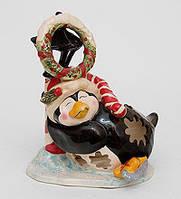 """Фарфоровый подсвечник """"Пингвин в танце на льду"""" (Pavone) BS-507"""