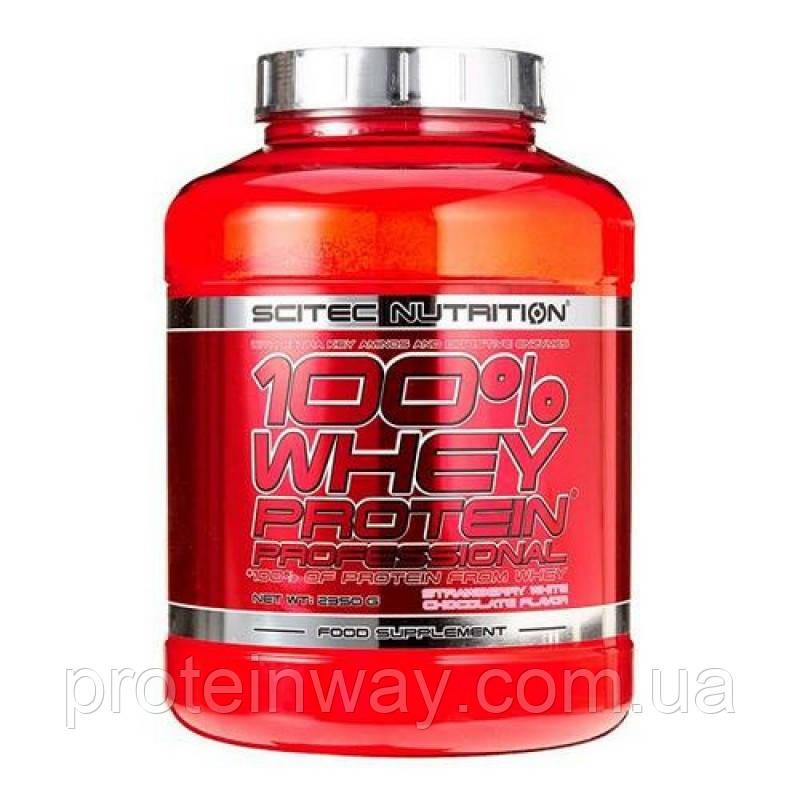 Scitec Nutrition Сывороточный протеин 100% Whey Protein Professional  2350g