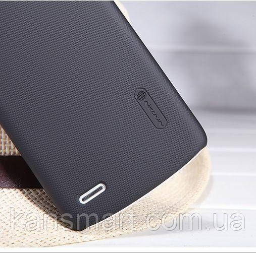 Чехол для Lenovo S920 Nillkin Frosted Shield Black + защитная пленка