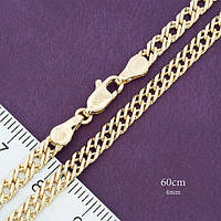 Цепь плотное плетение позолота Xuping