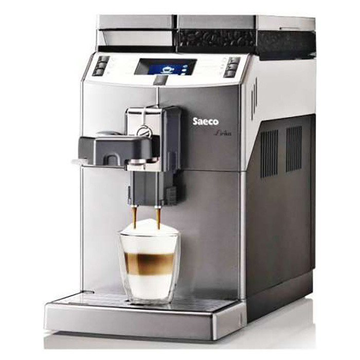 Кофемашина зерновая Saeco Lirika One Touch Cappuccino RI9851