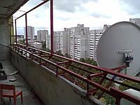 Металлокаркас для балкона, лоджии. Сварка.Обшивка.