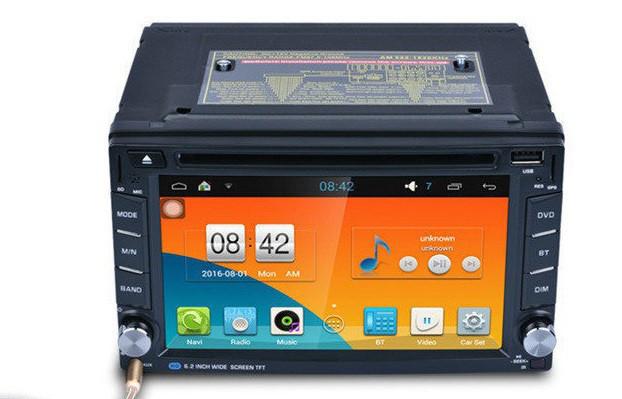 2din Автомагнитола Pioneer 6002B DVD привод, Wifi модуль и Bluetooth + камера Windows CE