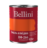 Эмаль алкидная для пола ПФ-266 Bellini красно-коричневая 0.9 кг