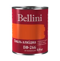 Эмаль алкидная для пола ПФ-266 Bellini красно-коричневая 0.9 кг, фото 1