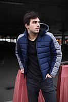 """Зимняя синяя мужская спортивная куртка Intruder """"Impression"""", фото 1"""