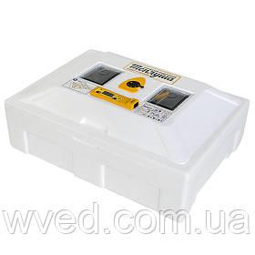 Инкубатор автоматический Теплуша NEW 72 яйца ламповый