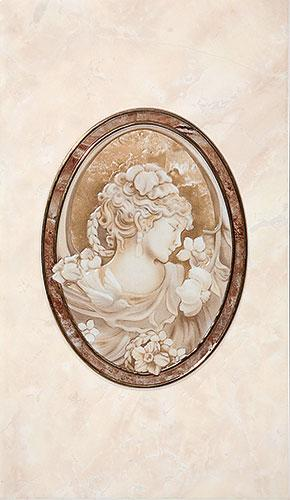 PIETRA Декор коричневый/Д 20 031