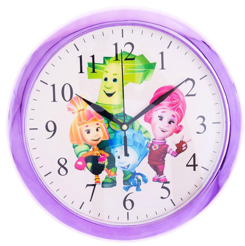 Часы настенные детские Фиксики  d1