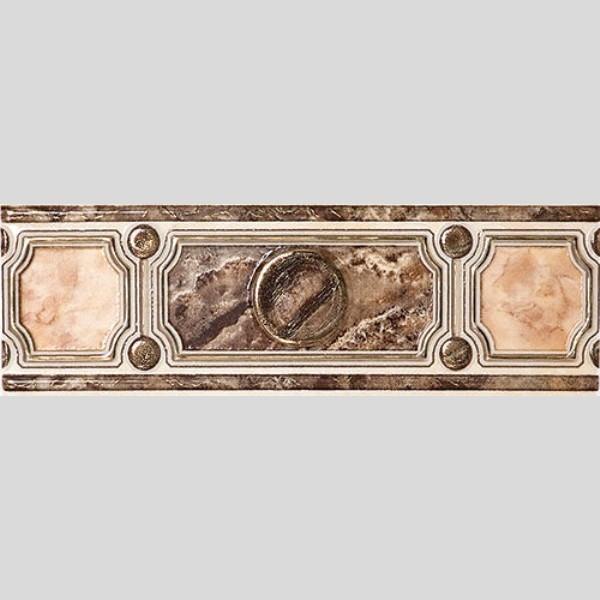 PIETRA Фриз коричневый широкий / БШ 20 031