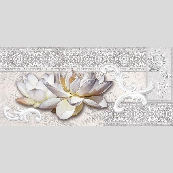 RENE декор серый / Д 153 071-1