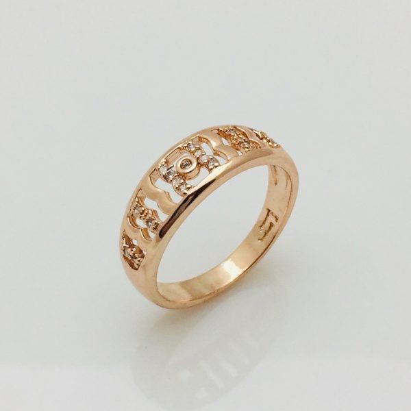 Кольцо Фиери, размер 17