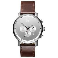 Часы мужские MVMT CHRONO SILVER BROWN