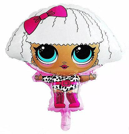 "Шар фигурный ""Кукла L.O.L"". Размер: 60*53 см."