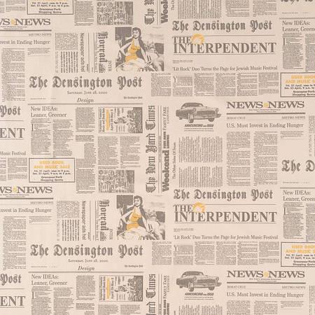 Ткань для штор Newspaper