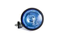 Прожектор, 12V, H3-55B, светодиодное кольцо, BLUE