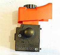 Кнопка включения УШМ DWT-125VS с регулятором