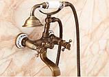 Набор смесителей для ванны и умывальника А-001, фото 3