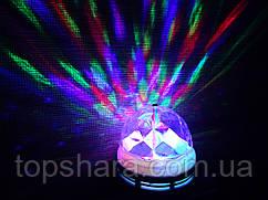 Светодиодная лампа Светомузыка для дома-LED Mini Party Light Lamp