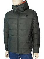 Стильна чоловіча демісезонна куртка Tiger Force TJBW-71000A C:A.Green