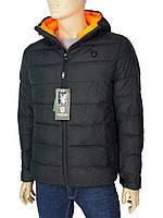 Чорна демісезонна чоловіча куртка Tiger Force TJBW-71000A C:Black