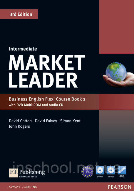 Market Leader Intermediate Flexi Course Book 2 Pack ISBN : 9781292126111