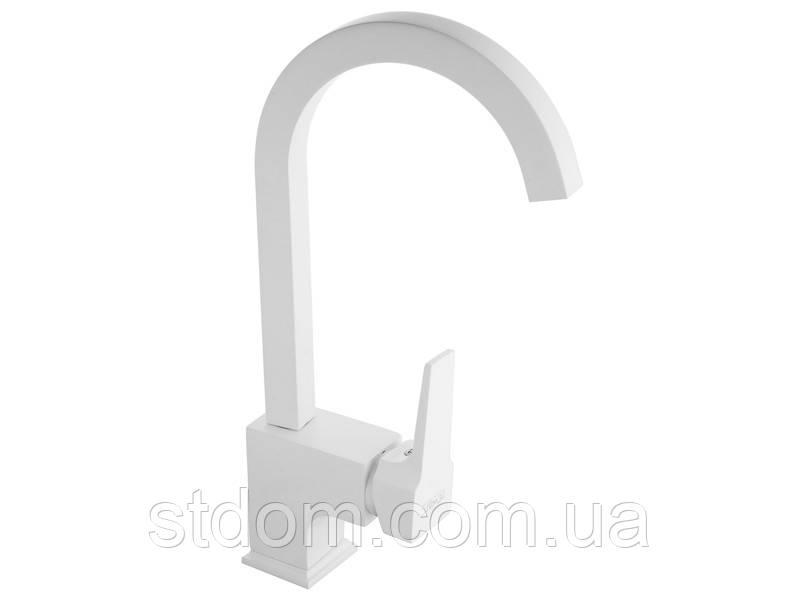 Смеситель для кухни Newarc Aqua 941881W белый