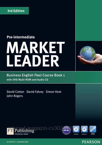 Market Leader Pre-Intermediate Flexi Course Book 1 Pack ISBN : 9781292126128, фото 2