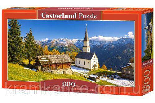 """Пазлы CASTORLAND 600 """"Хутор в Австрии"""" ПЗ-060153, фото 2"""