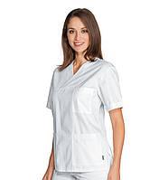 Медицинский костюм хирургический женский белый - 03102