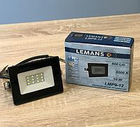 Светодиодный LED прожектор 10w 6500k Lemanso LMP9-12