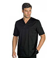 Медицинский костюм хирургический мужской черный - 03300 42