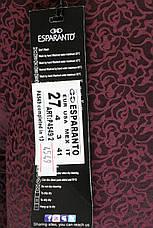 Жіночі  штани 3D кольору марсала Esparanto, фото 3