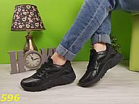 Кроссовки хуарачи черные, фото 1